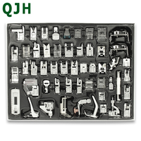 52pcs Fabric stitching foot Sewing Machine Braiding Blind Stitch Darning Presser Foot Feet Kit Set For Brother Singer Janome