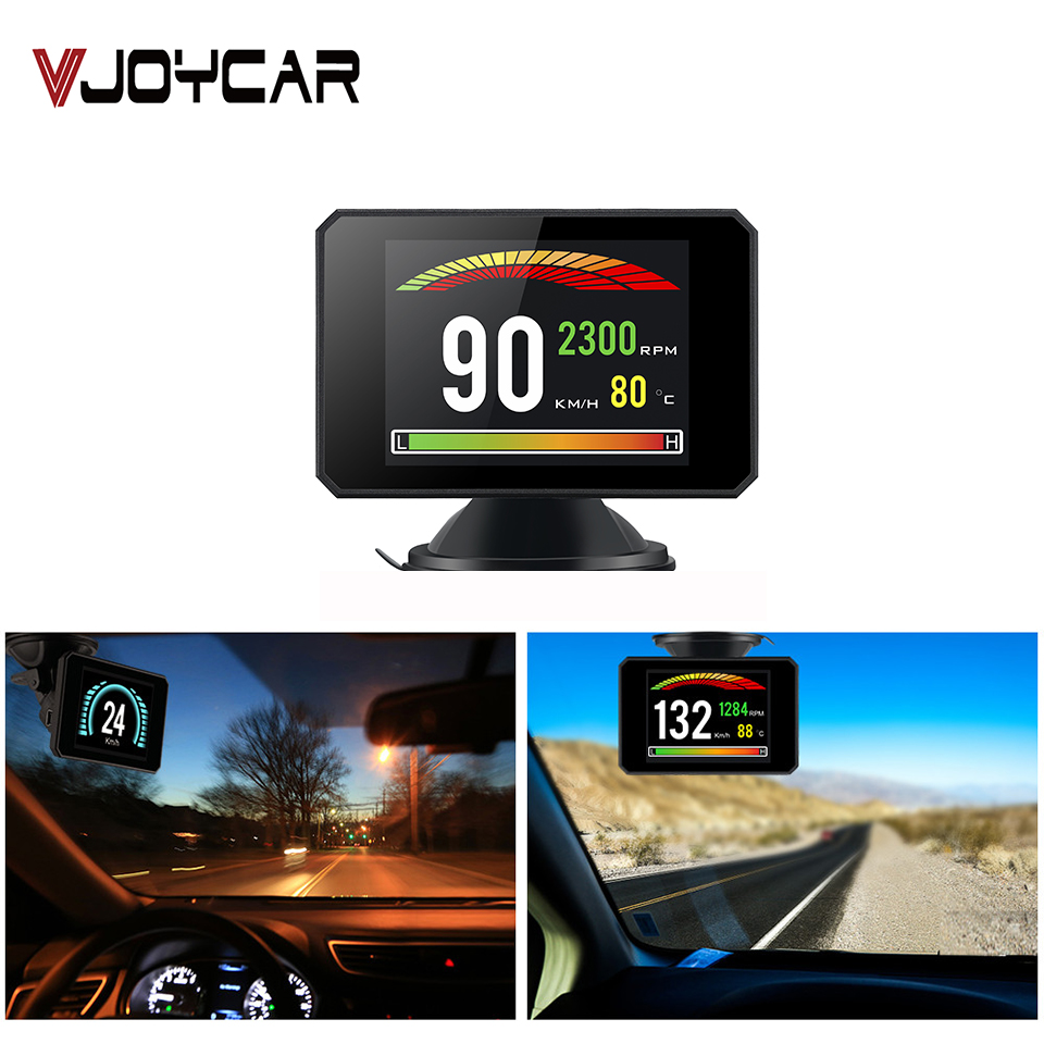 3.9'' HD TFT Car Hud OBD2 Display On Board Computer Speedometer Turbo Boost Pressure Alarm Diagnostic Tool Car Electronics Gift
