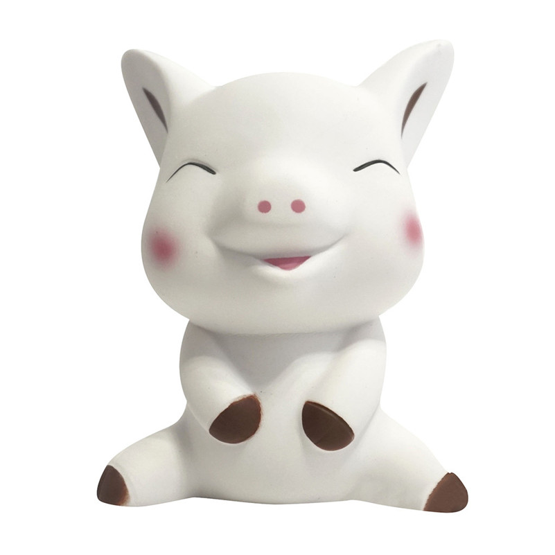 Funny Squeeze Pig Cream Bread Scented Slow Rising Toys Phone Charm Gifts Toy Squishi Gift For Baby Kid  F1
