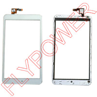 For Alcatel One Touch P320 P320X POP 8 Touch Screen Digitizer Front Glass With Frame Replacement