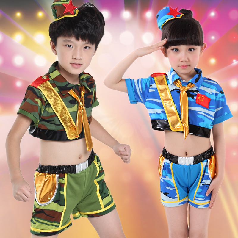 10pcs/lot Free Shipping Camouflage Children Performance Dance Costumes Kids Boys Girls Military Uniforms Army Training Clothes-in Ballroom from Novelty ...  sc 1 st  AliExpress.com & 10pcs/lot Free Shipping Camouflage Children Performance Dance ...