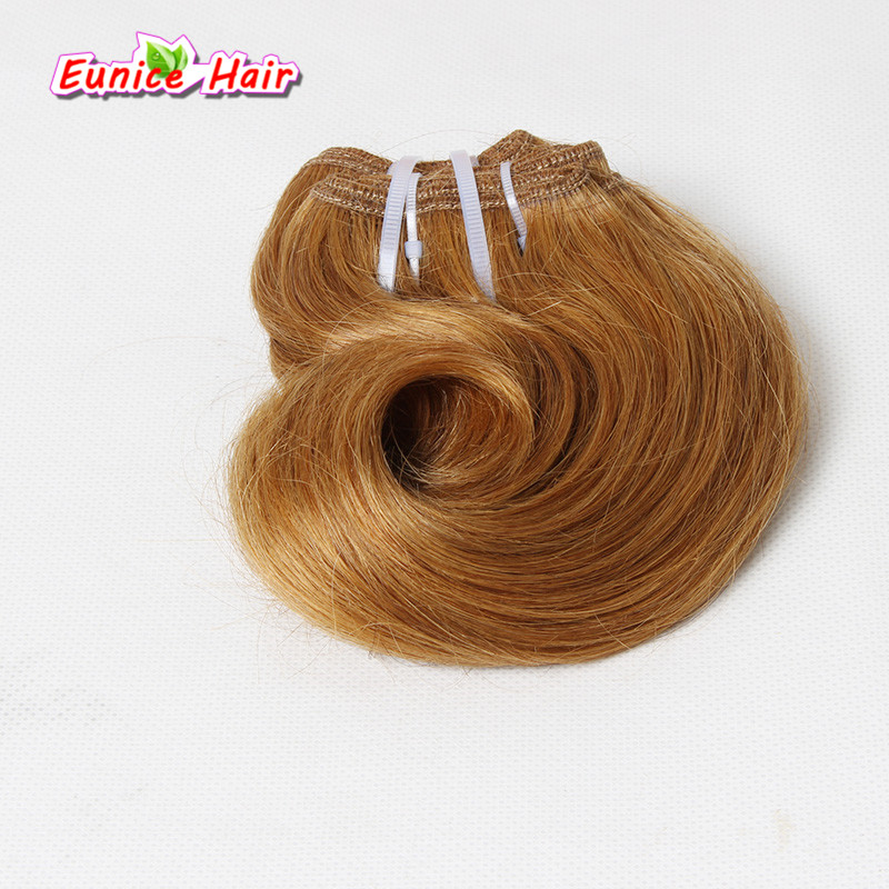 Best Quality 4 Bundles Body Wave Brazilian Hair Weave Short Bob Hair Piece Ombre Two Tone 7A Body Wave Hair Extensions 100g/pack