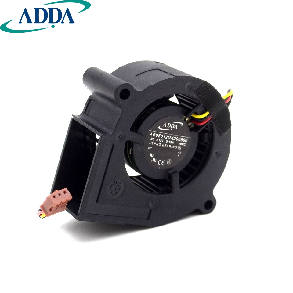 PJD5132 projector / instrument bulb turbine fan AB05012dx200600 cooling fan areyourshop audio adapter 6 pin xlr 12mm cable chassis mount length 46mm 50pcs female male adapter connector new arrival