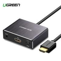 Ugreen HDMI audio splitter 4K high definition computer revolution 7.1 5.1 stereo headphone fiber converter
