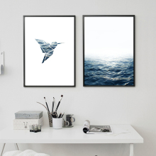 Sea and Bird Wall Art