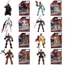 8 Styles Western Animiation  Chewbacca Inqusitor Stormtrooper Bossk Greedo Darth Vader PVC Action Figure Doll Model Baby Toy