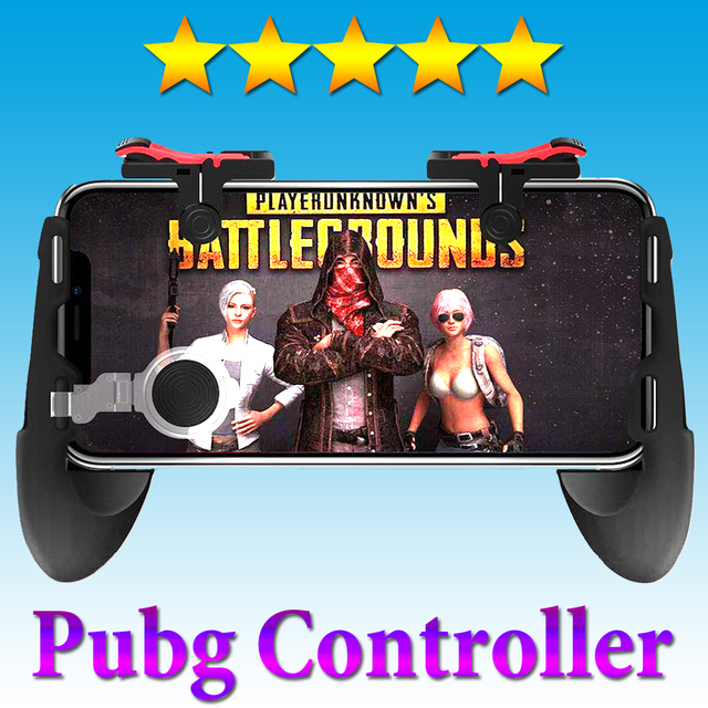 Gamepad Joystick For Xiaomi Iphone Samsung Phone Game Pad Controller For Pubg Trigger Mobile Controller L1 R1 Phone Game Button