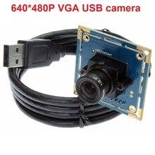 300K pixels 640*480P OV7725 omnivision camera module oem USB 2.0 board camera usb