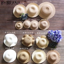 Bybrana 1/3 1/4 1/6 1/8 1/12 BJD SD кукла соломенная шляпа
