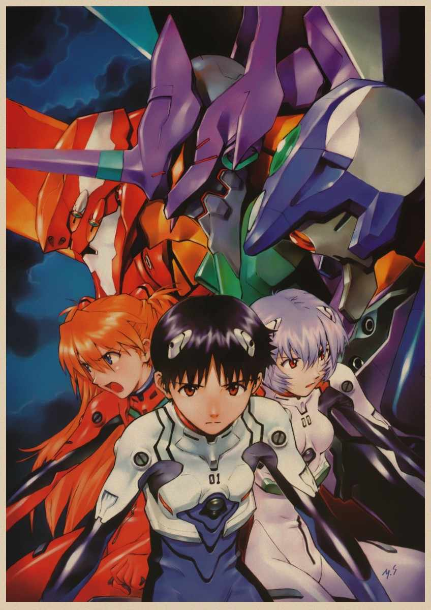 Image result for evangelion art