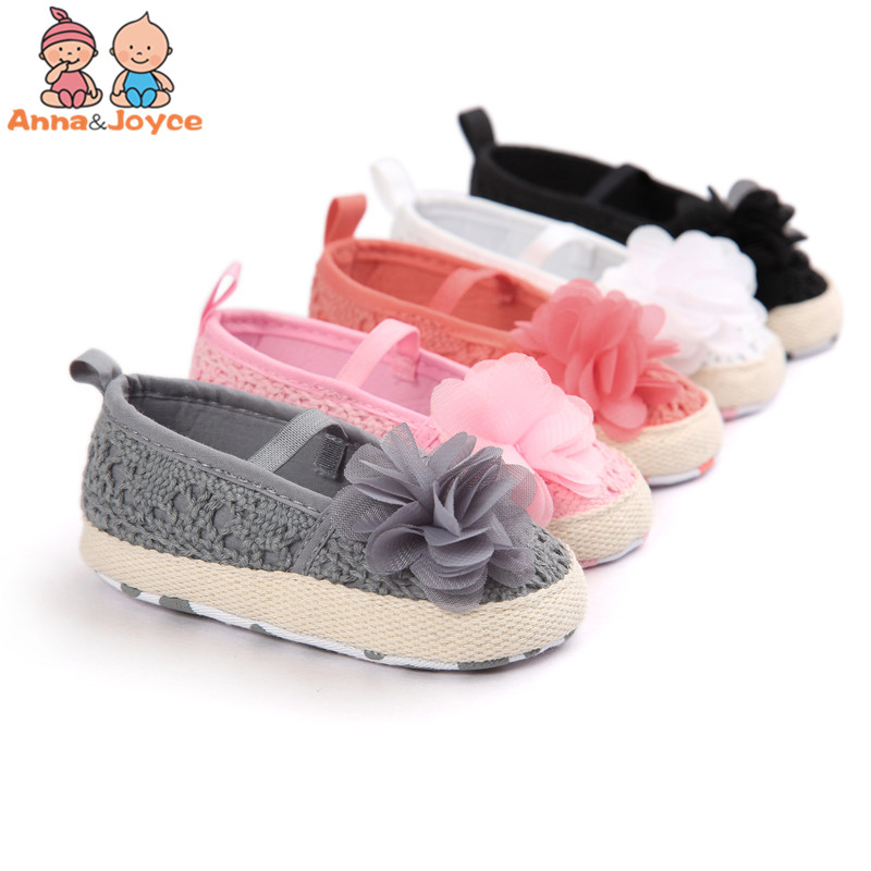 Arrival Baby Girl Summer Hollow Knit Soft Soled Baby Walking Ballet Dress Mary Jane Babe Cradle Shoes
