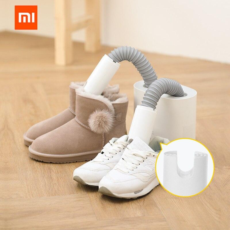 Original xiaomi mijia deerma hx10 inteligente multi-função secador de sapato retrátil multi-efeito esterilização u-forma de ar para fora