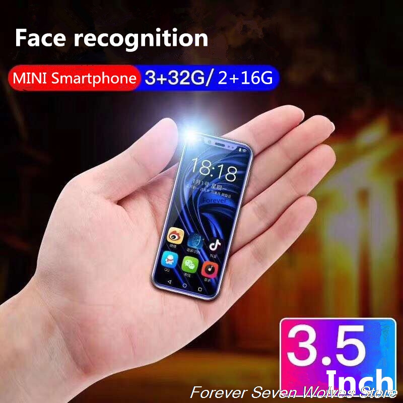 3GB Ram 32GB Rom Android 6.0 Mini 4G SmartPhone K-TOUCH I9 Face ID Telefone Dual SIM Mobile Phone