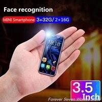 Free Case 3GB Ram 32GB Rom Android 8.1 2GB Ram 16GB Rom Mini 4G SmartPhone K TOUCH I9 Face ID Telefone Dual SIM Mobile Phone