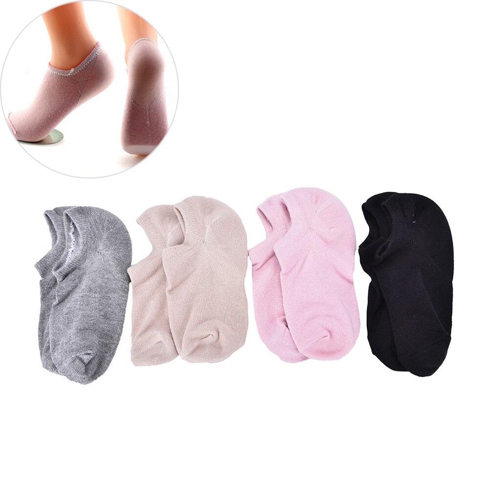 Мягкие Спа-Носки для педикюра, 1 пара, Увлажняющий Массажер, трещины кожи, пятки, подушка, гелевые носки для педикюра