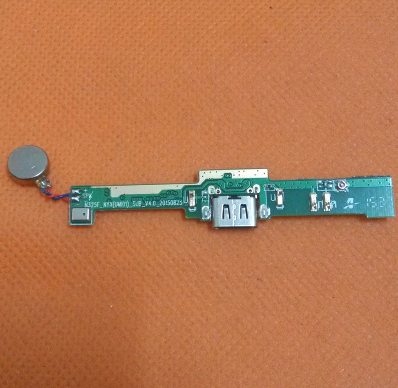 Used Original USB Plug Charge Board +vibration For UMI HAMMER S 4G LTE MTK6735 Quad Core 5.5 HD 1280x720 Free shipping