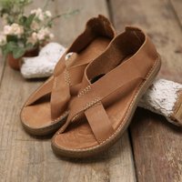 Tayunxing handmade shoes genuine leather classic men sandals all cow leather casual comfort breathable 188 5