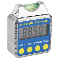 Digital Angle Gauge Mini Protractor Horizontal Bevel Box LCD Display Clinometer with Spirit Level Best For Circular Saws Miter