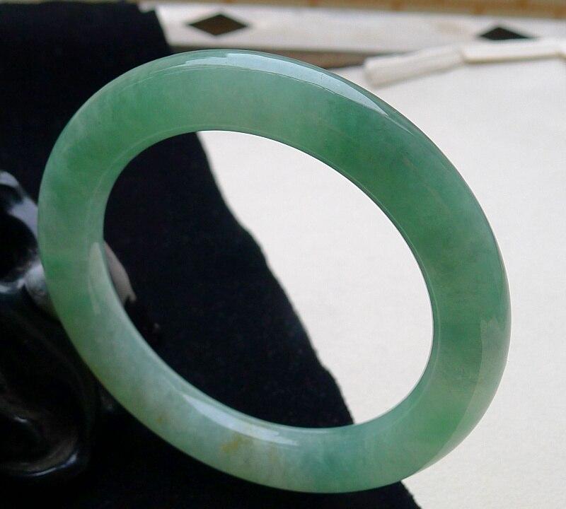 90053ee99992 Birmania natural de hielo verde caja de regalo exquisita mano certificado