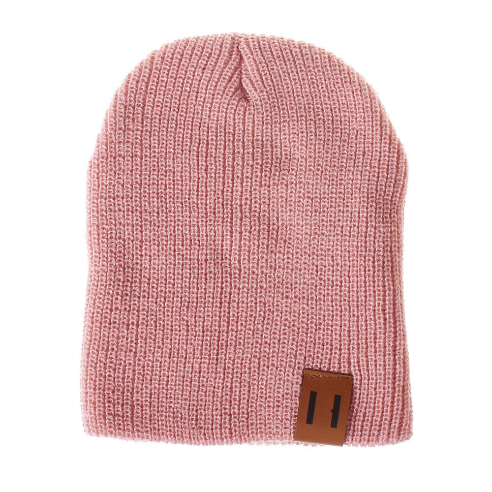6c966be44 New Autumn Winter Toddler Infant Baby Kids Boys Girls Solid Color Knited  Woolen Headgear Hat Cap Unisex Suit For 6Mto4T Baby Hat