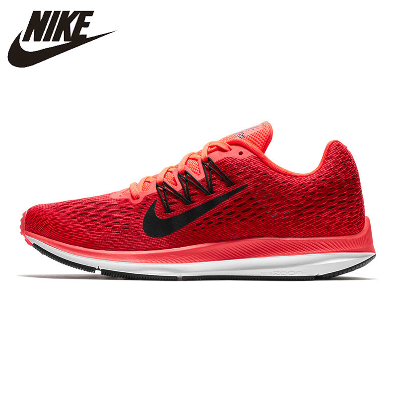 Nike ZOOM WINFLO 5 Men's Running Shoes Lightweight Shock Absorbing Wear Resistant Breathable Sneakers AA7406-600 water absorbing oil absorbing cleaning cloth