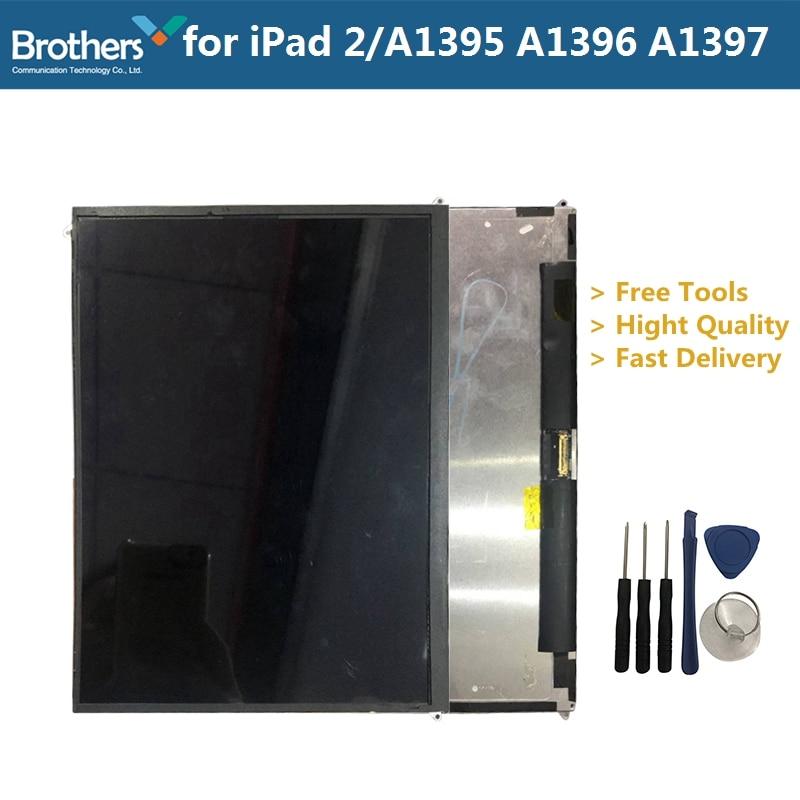 Tablette LCD affichage pour Apple iPad 2 panneau LCD assemblage pour iPad 2 A1395 A1396 A1397 uniquement LCD écran tactile numériseur outils gratuits