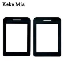 Keke Mia 2.4 inch Original Lens Front Panel For Philips E180 E181 Cellphone Glass Xenium Mobile Phone