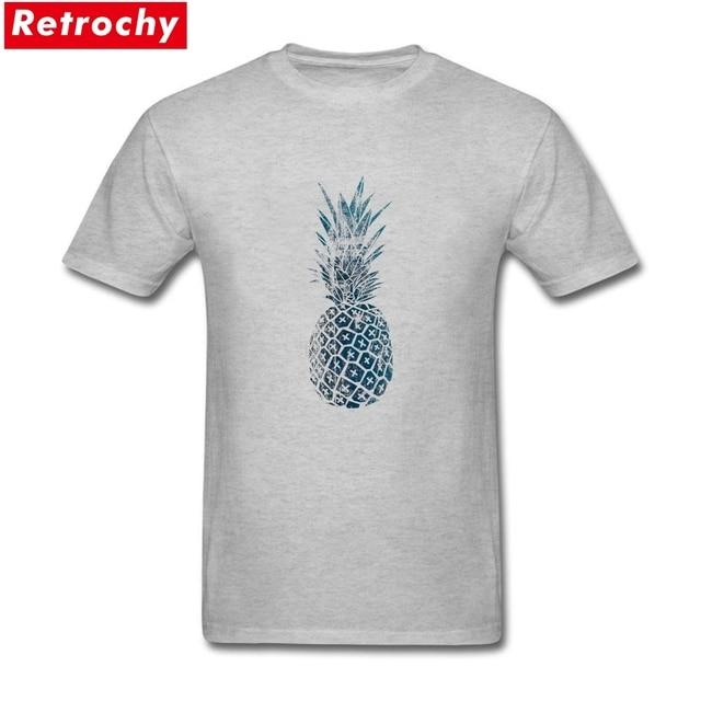 9ef2dc7a15ca5 Moda Para hombre azul piña Camisas Super stretch preshrunk algodón imprimir hombres  camiseta xxx