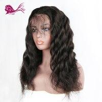 EAYON волосы индийские полностью кружевные человеческие волосы боб парики Remy волна тела для черных женщин с волосами младенца 130% плотность на