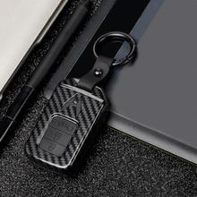 2019 ABS PC Carbon Fiber Silica Gel Key Case Full-encircling for Honda Accord Civic 10th Gen JADE VEZEL CRIDER CRV Durability