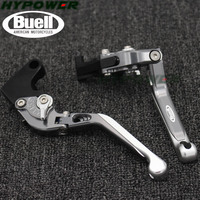 For Buell M2 Cyclone 1997 1998 1999 2000 2001 2002 Motorcycle Folding Extendable CNC Moto Adjustable Clutch Brake Levers