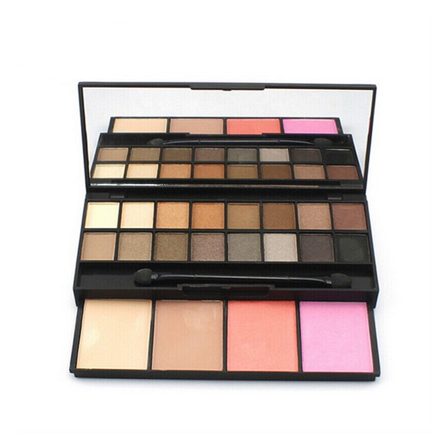 Professional Makeup Set 16 Color Eye Shadow + 4 Color Makeup Blusher High Quality Natural Style Cosmetic