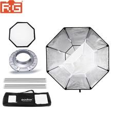 """Godox BW120 softbox 120 cm 47 """"boîte à lumière stroboscopique Studio octogonale avec monture Bowens pour Flash Studio"""