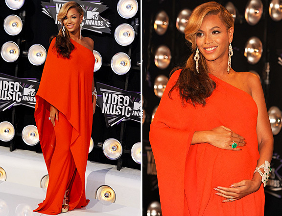 Beyonce Vestido Big Size Orange One Shoulder Long Prom Party Gown   Evening     Dresses   For Pregnant Women Gown 2019   evening     dress