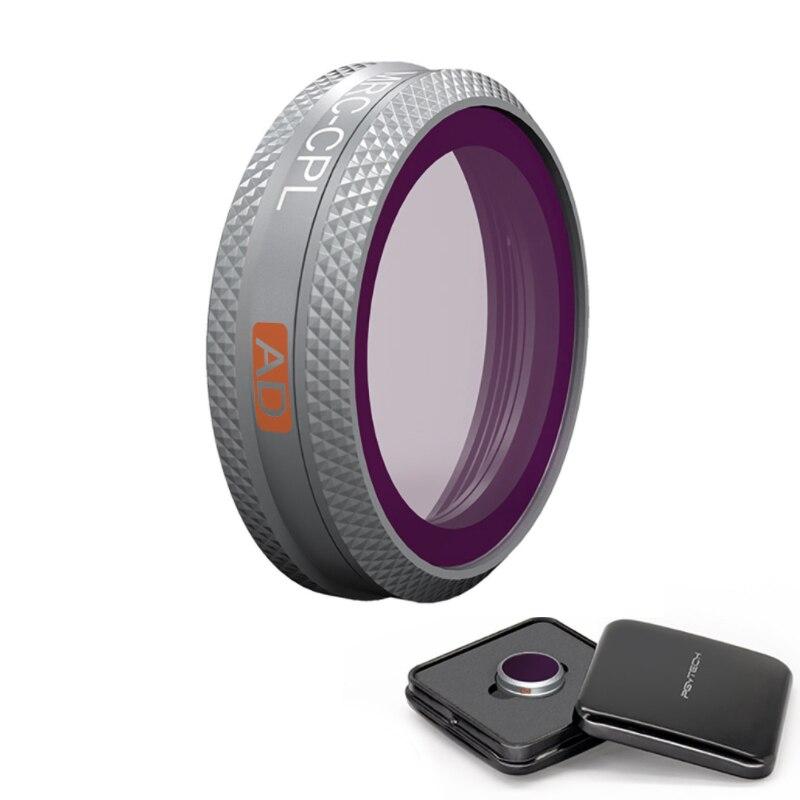 1 piezas PGYTECH filtro de la Cámara filtro UV CPL ND4 de atenuación para DJI real MAVIC 2 ZOOM filtro