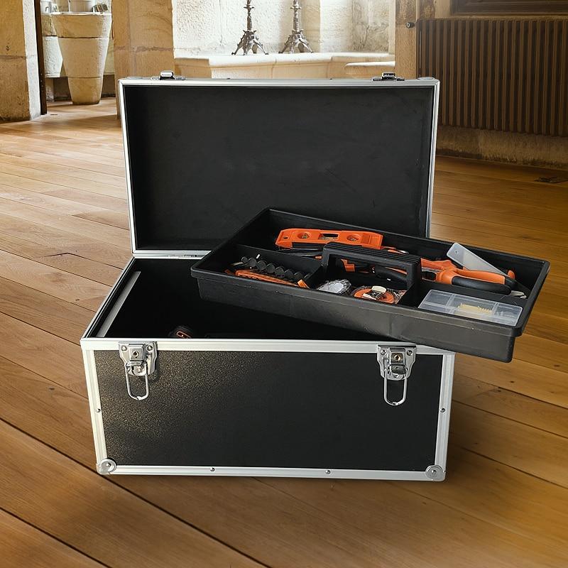 Aluminium Tool Case Heavy-Duty With Lock Key Makeup Tool Box