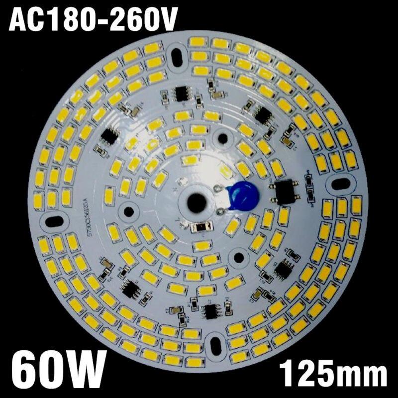5pcs 60W 220v Directly Driverless Integrated Driver SMD5730 LED Aluminum Plate For High Bay Light Panel mukhzeer mohamad shahimin and kang nan khor integrated waveguide for biosensor application