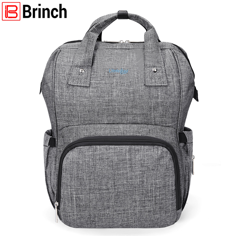 New Arrival Baby Diaper Bag Backpack Slim Lightweight Maternity Bag For Baby Large Capacity Multifunctional Mother Bag