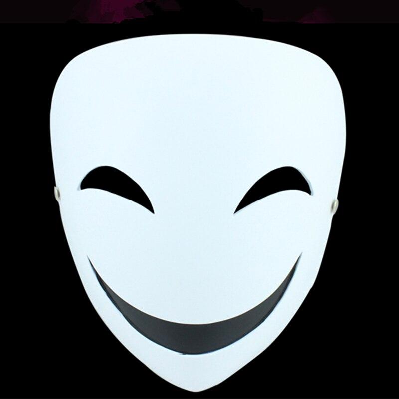 Hotsale di Alta Qualità Masque Partito Maschera Per Halloween, Nero Pallottola Tema Clown Maschera per Il Viso, Cosplay Anime Costume Masquerade Mask