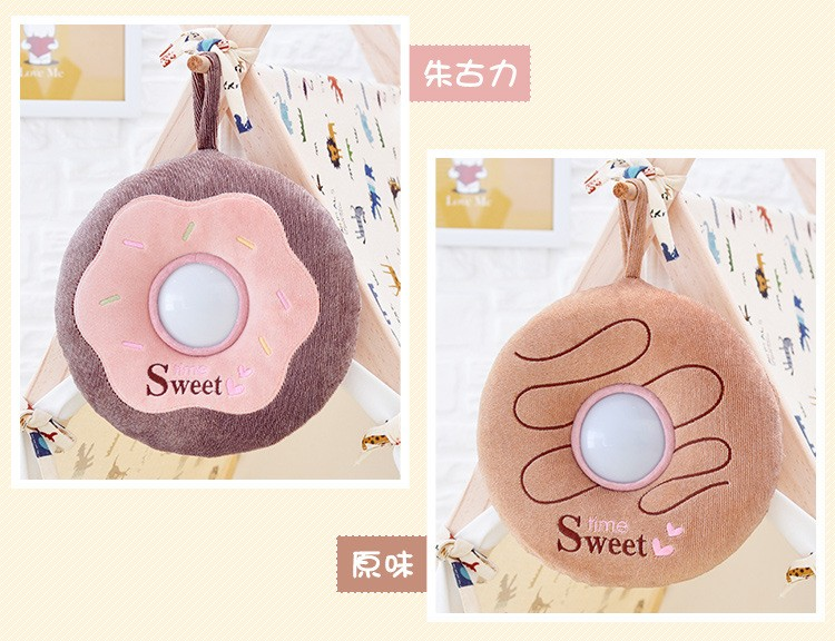 The best gift Metoo donut plush toy Nightlight luminous toy baby toy gift just light sleep comfort children friends (18)