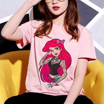 Summer Fun New Snow White Princess Print t shirt women Harajuku Cartoon Casual Tops Tee Shirt Femme Camisetas Verano Mujer 2019