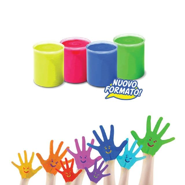 CARIOCA 6 farbe kinder finger malerei sicher nicht giftig leicht zu ...