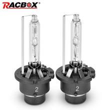 RACBOX D2S D2C D2R D4S D4R żarówka ksenonowa HID lampa kuliste lampki 4300K 5000K 6000K 8000K reflektor samochodowy wymiana oryginalny u nas państwo lampy