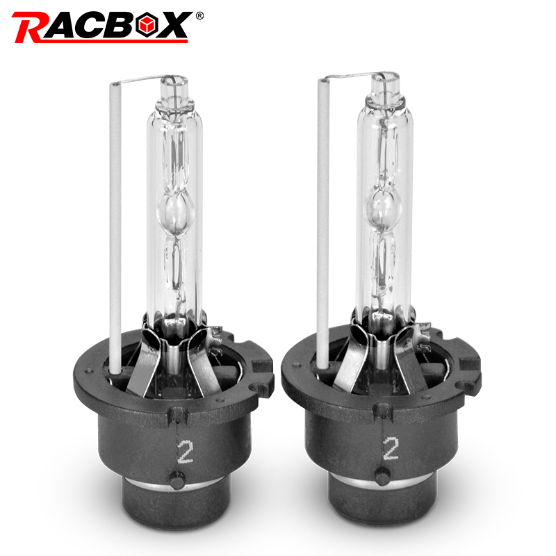 RACBOX D2S D2C D2R D4S D4R HID Xenon Bulb Lamp Globe Lights 3000K 4300K 5000K 6000K 8000K 12000K Car Headlight Replacement Lamps