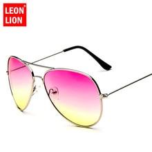 LeonLion 2019 Luxury Pilot Sunglasses Women/Men Brand Design