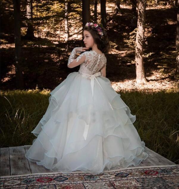 Mariages Same Deux Pour Pièces Fleur Parole D'été Pic Longueur Pas Robe As Robes Cher Nouvelle Filles 2018 Pageant YYZ0qrw
