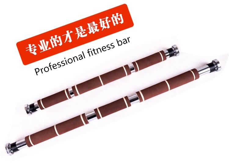 60-100cm Justerbar Höghållfast multifunktionell Fitness bar Dörr - Fitness och bodybuilding