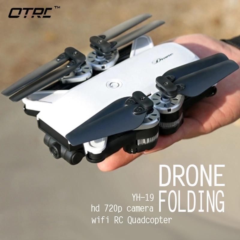YH 19 720P Camera Drones Self Mini Foldable Air Selfie Drone RC Quadcopter RTF 2MP WiFi FPV Camera Altitude Hold Vs E58