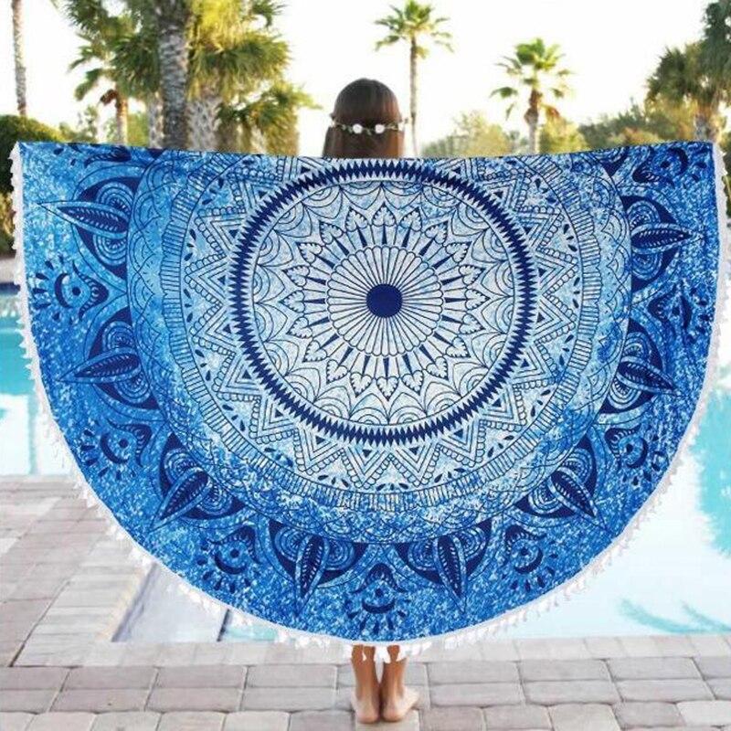 Yoga Towel Function: Aliexpress.com : Buy Beach Round Tapestry Pineapple Yoga