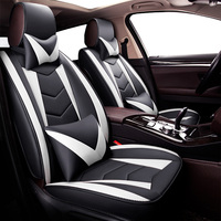 New Universal PU Leather car seat covers For Acura mdx rdx zdx,jaguar f pace xf xj xjl x351 of 2010 2009 2008 2007